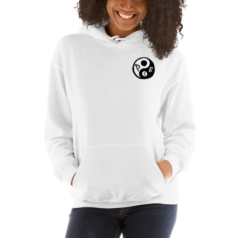 Skier's Mountain Monk Hoodie