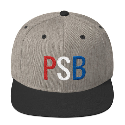 Red, White, and Blue PSB Snapback
