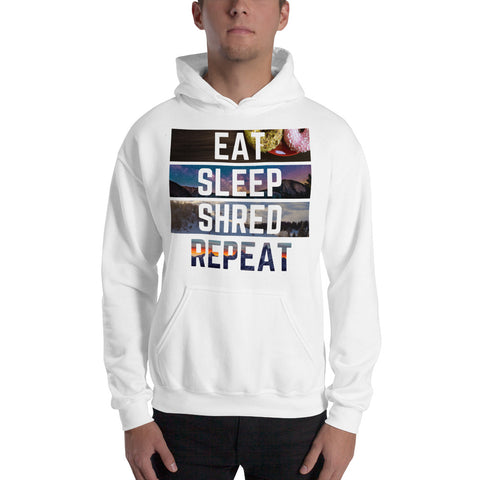 Eat Sleep Shred Repeat Hoodie