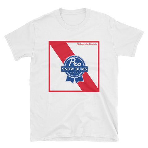 Pro Snow Bums Blue Ribbon T-Shirt
