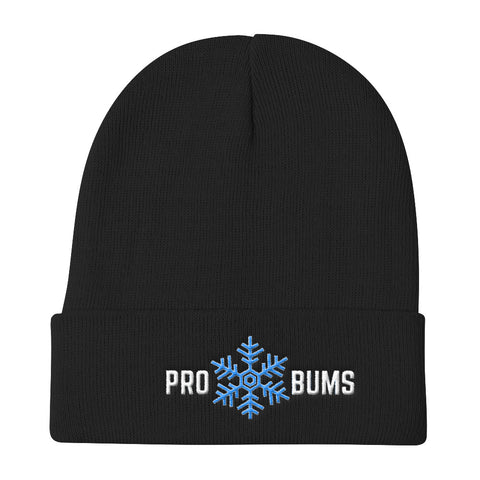 Pro Snow Bums Knit Beanie