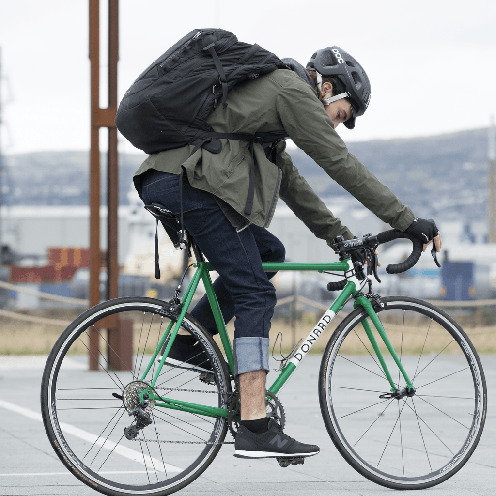 Resolute Bay PHYSICAL NX4 Slim Fit Cycling Jeans - 11oz Indigo cycling commuter jeans reflective jacket