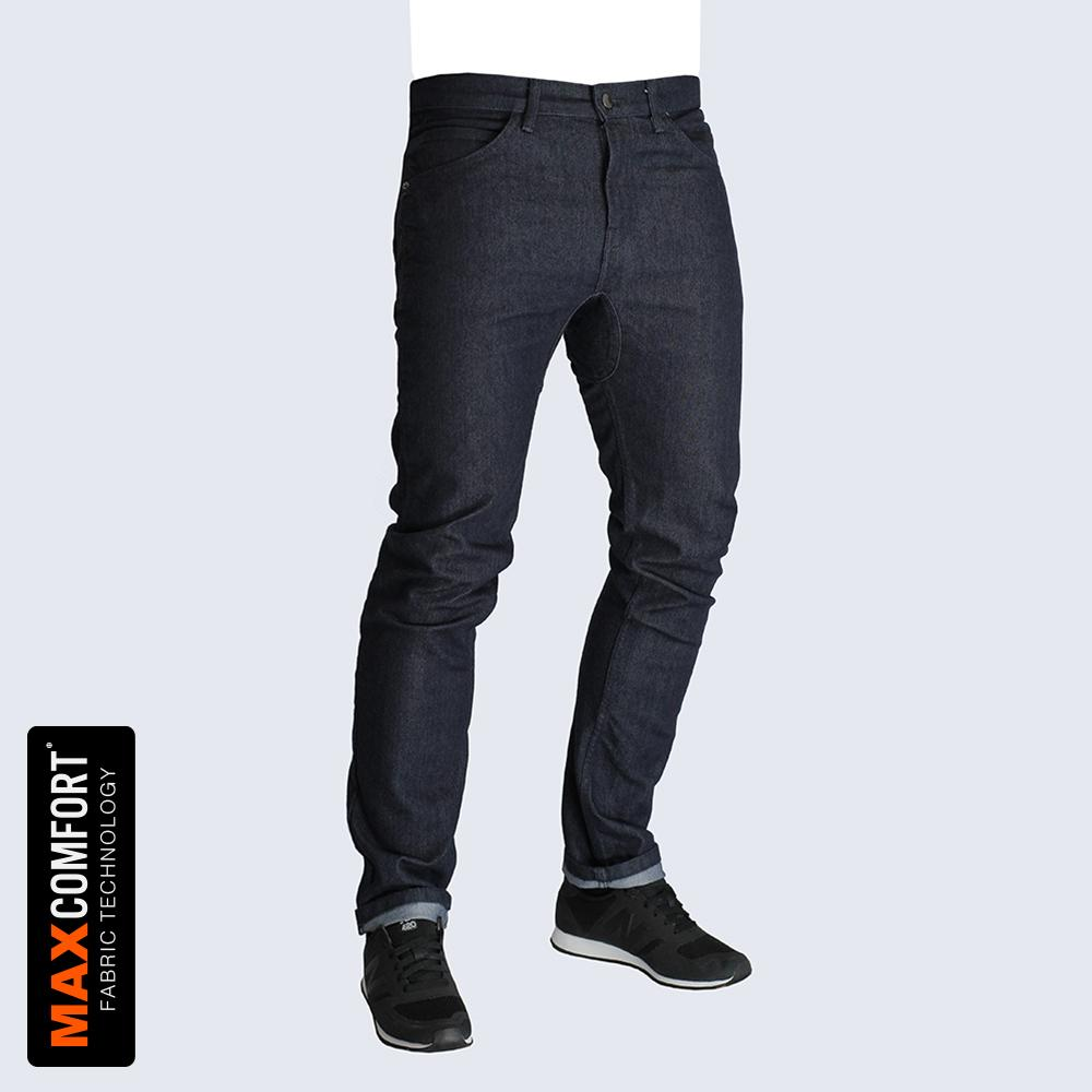 Resolute Bay PHYSICAL NX4 Slim Fit Cycling Jeans - 12.5oz Indigo cycling commuter jeans reflective jacket