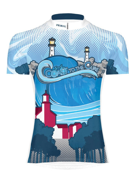 2019 Coast to the Cure NF Bike Ride Lighthouse Jersey