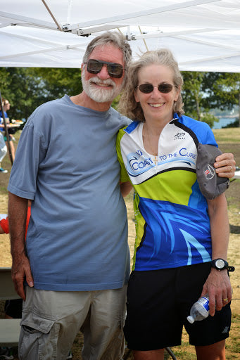 2014 Coast to the Cure NF Bike Ride Lime Green Jersey