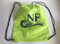 Coast to the Cure Drawstring Bag