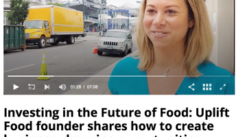 Uplift Food Founder Featured on FoodNavigator USA