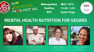 Kara Landau Presents at NYC Vegetarian Food Festival 2019