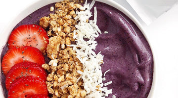 Gut-Happy Smoothie Bowl Crafted by @anythingbutramen