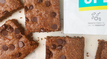 Gut Healthy Prebiotic-Fiber Brownies!