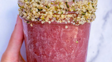 Prebiotic Fiber Cherry Vanilla Smoothie