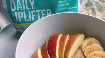 Prebiotic Fiber Banana Apple Oats