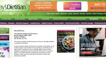 Uplift Food Featured by Todays Dietitian!