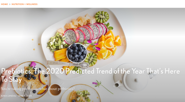 Prebiotics Predicted to be Top Trend of 2020!
