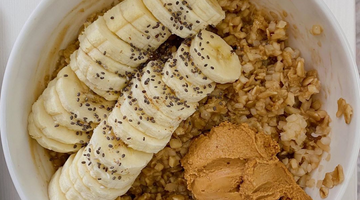 Prebiotic Fiber Coffee Banana Oats