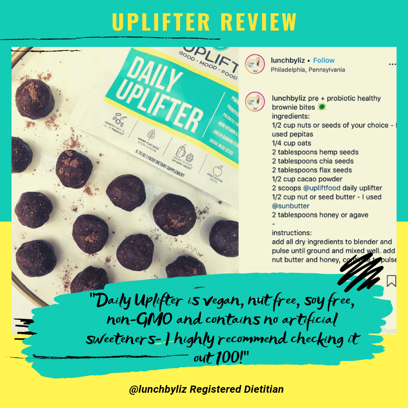 Uplift food daily uplifter customer review prebiotic psychobiotic powder