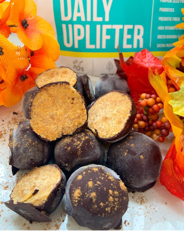 Uplift food daily uplifter prebiotic supplement gut health psychobiotic prebiotic fiber gut happy cookies good mood food