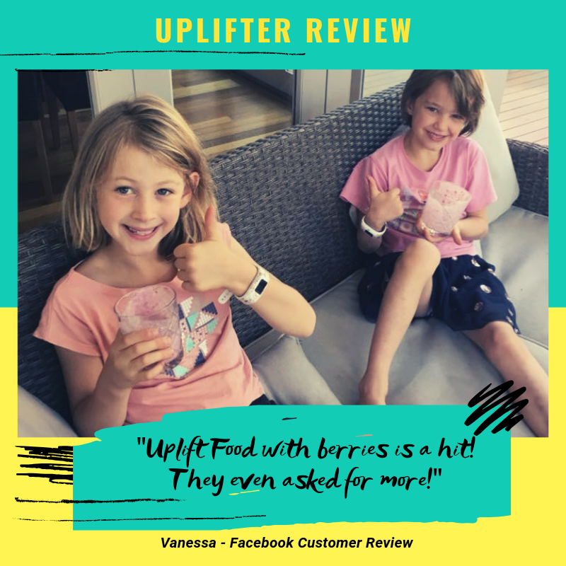 uplift food daily uplifter prebiotic powder review supplement