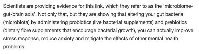 gut bacteria, mental health, probiotics, probiotics, anxiety