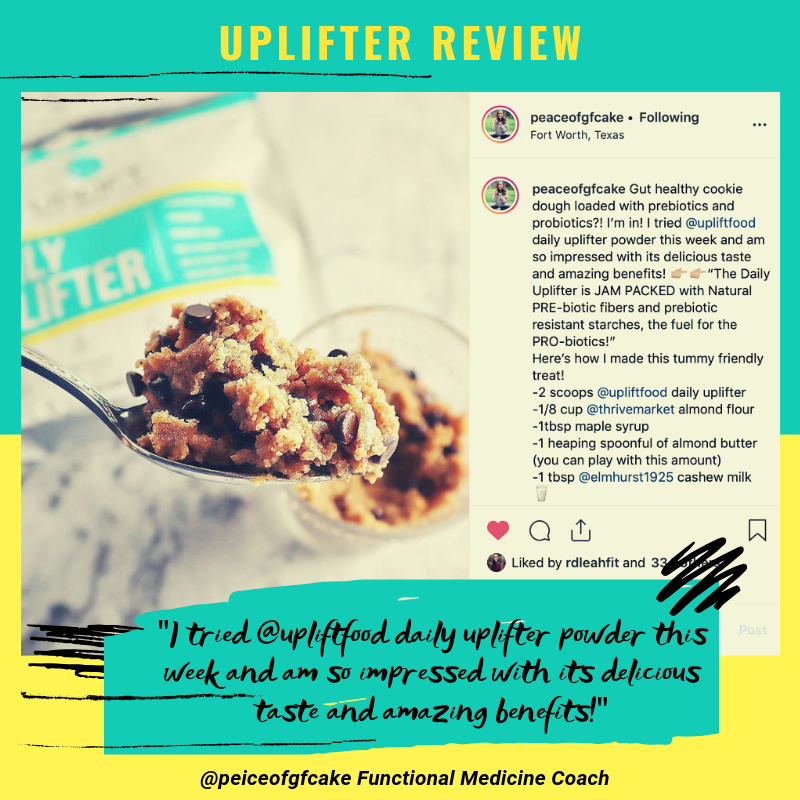 Uplift Food daily uplifter prebiotic supplement review