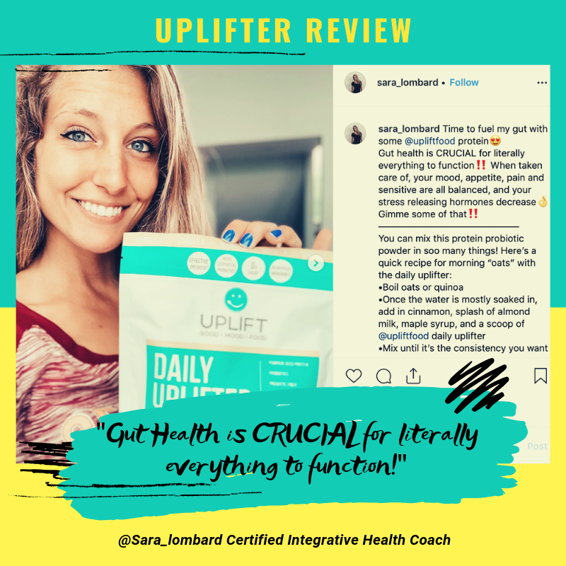 uplift food daily uplifter prebiotic supplement customer review