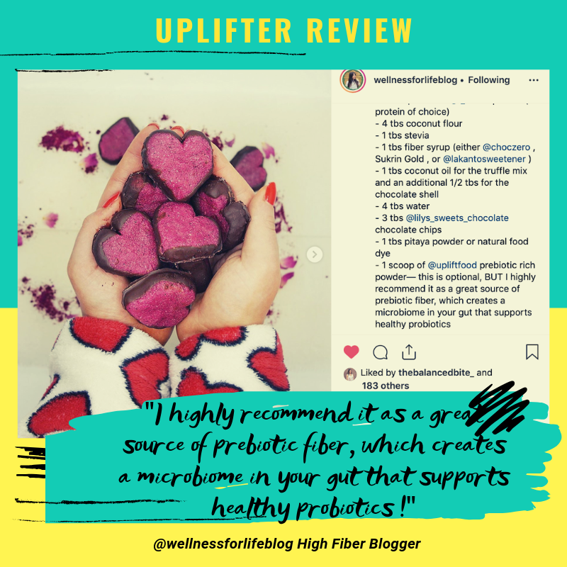 Uplift food daily uplifter customer review prebiotic supplement psychobiotic powder organic