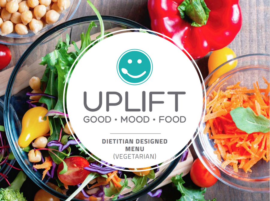 Uplift Food Vegetarian Prebiotic Gut Health Meal Plan