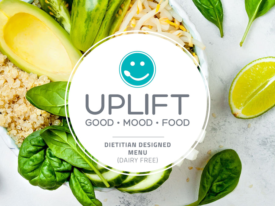 Silver: Good Mood Food Menu - Gluten Free / Dairy Free