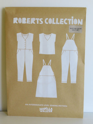 PAPER Roberts collection sewing pattern