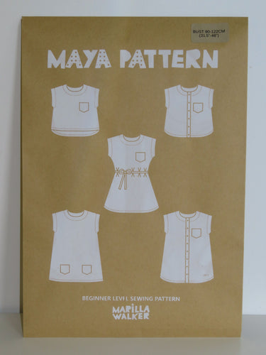 PAPER Maya dress sewing pattern