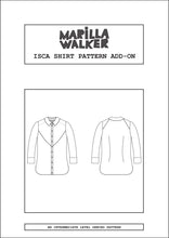 Load image into Gallery viewer, PDF Isca shirt pattern add-on