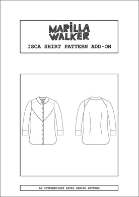 4b. FREE PDF Isca shirt pattern add-on