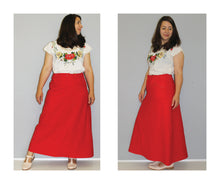 Load image into Gallery viewer, PDF Evan skirt sewing pattern