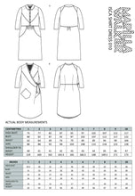 Load image into Gallery viewer, PAPER Isca shirtdress sewing pattern