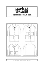 Load image into Gallery viewer, PDF Honetone coat sewing pattern
