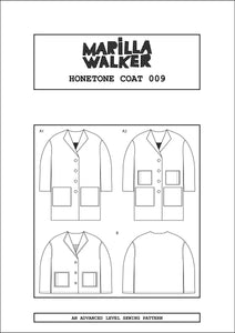 PDF Honetone coat sewing pattern