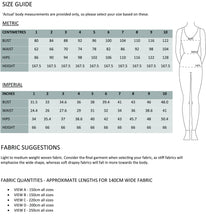 Load image into Gallery viewer, PAPER Maya dress sewing pattern