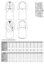 Load image into Gallery viewer, PDF Isca shirt dress sewing pattern