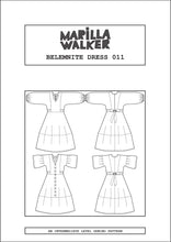 Load image into Gallery viewer, PAPER Belemnite dress SIZE RANGE 1 sewing pattern