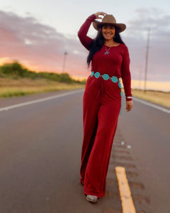 Hit the road Jack rust Jumpsuit