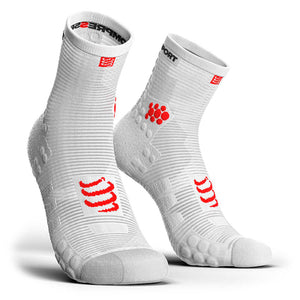 Calcetines Pro Racing Socks RUN High Smart V3 Blanco