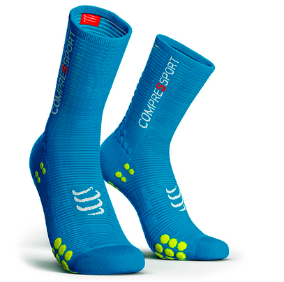 Calcetines Pro Racing Socks BIKE V3 Azul
