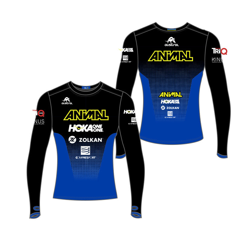 Camiseta de Atletismo manga larga Animal Team
