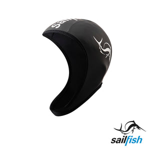 Gorro de Neopreno Ajustable Negro - Sailfish