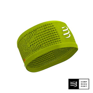 Nuevo Headband On/Off Lime - Compressport