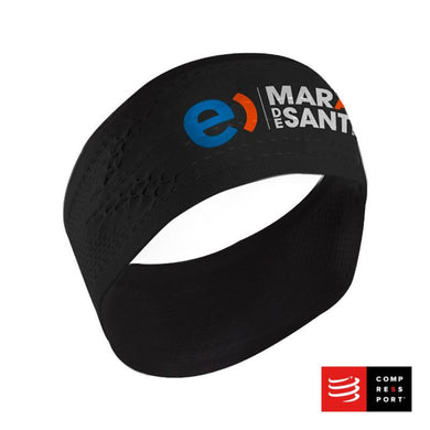 HeadBand On/Off Negro Maratón de Santiago - Compressport
