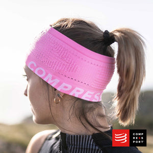 Nuevo Headband On/Off Compressport Rosado