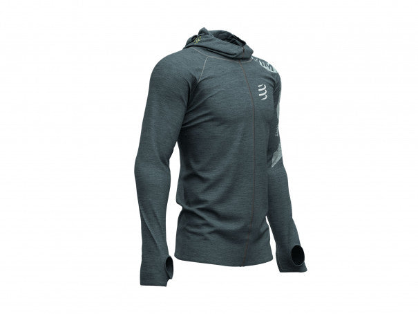 3D Thermo Seamless Hoodie Born To SwimBikeRun 2019