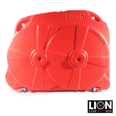 Maleta para Bicicleta Lion Bike Box Roja