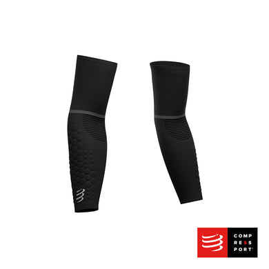 Nuevas Mangas ArmForce Ultralight Negras Compressport